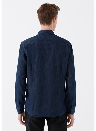 Mavi Gömlek İndigo